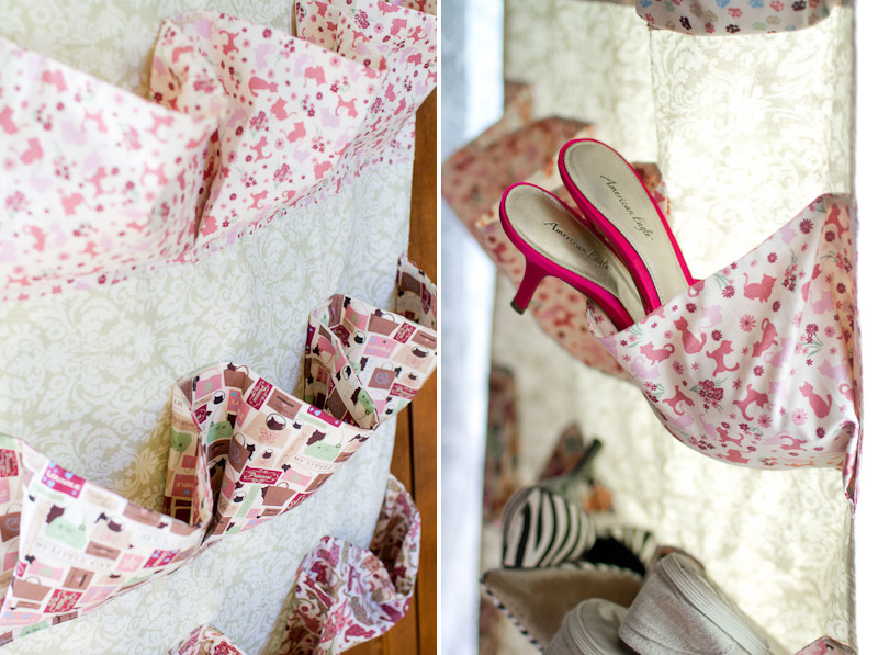 Sewing Project: Shoe Organizer