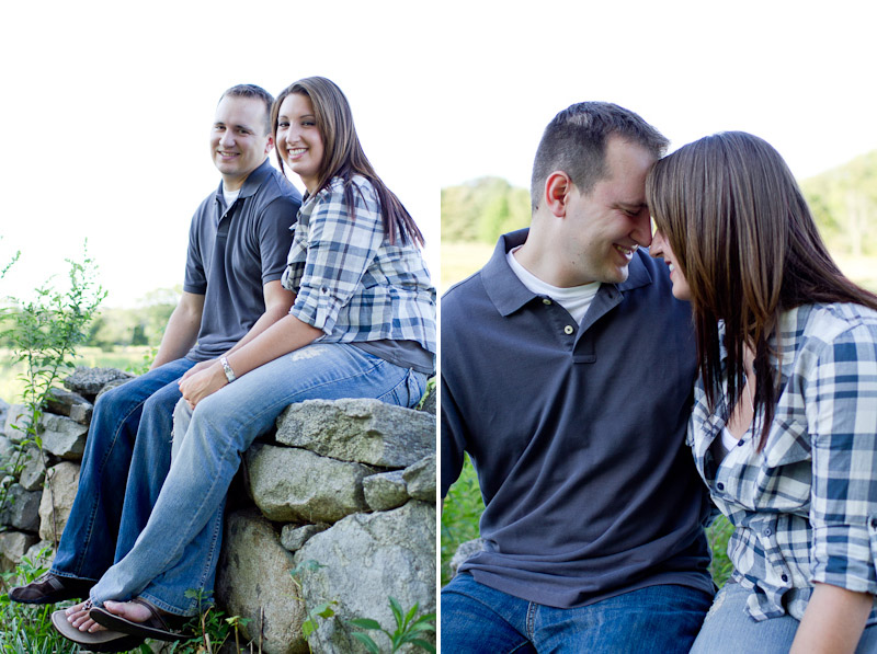 Kelly & Russ Engagement Photography Harkness State Park Waterford CT