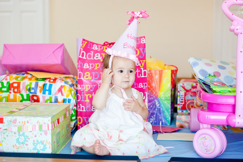 Julias First Birthday Party | CT Childrens Photography